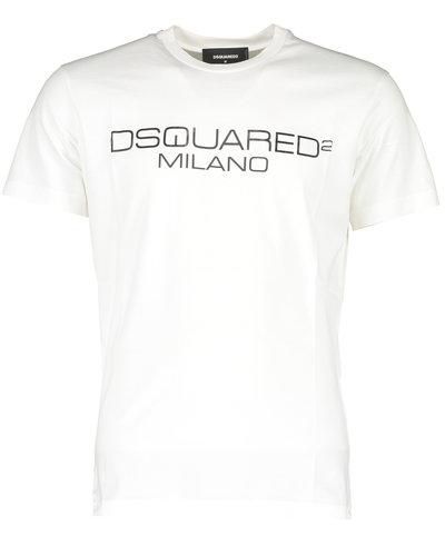 Dsquared2 Milano Logo T-Shirt White