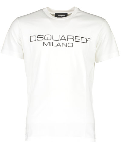 Dsquared2 Milano Logo T-Shirt Wit