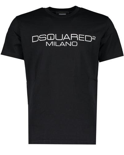 Dsquared2 Milano Logo T-Shirt Schwarz