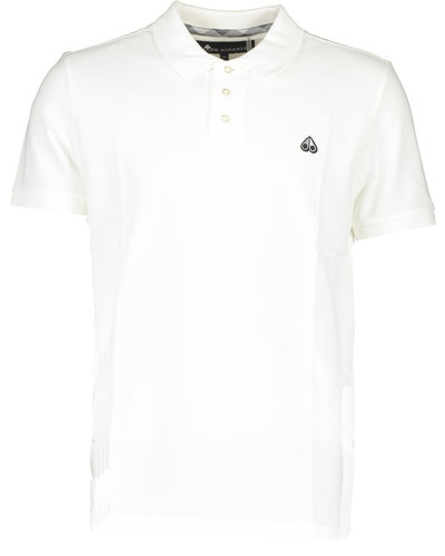 Moose Knuckles Polo White