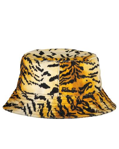 Philosophy di Lorenzo Serafini Tiger Bucket Hat Beige