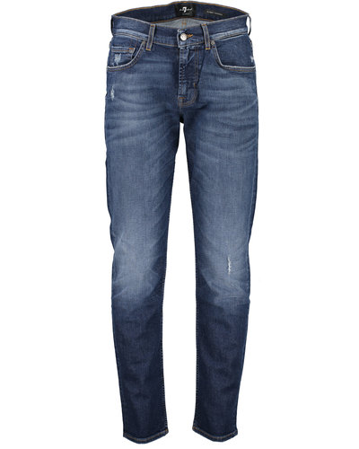 7 for all mankind Tek Crossover Jeans Blau