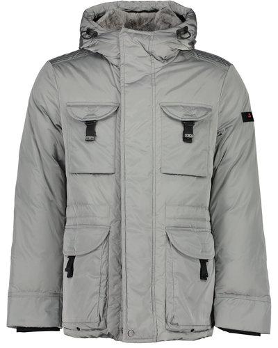 Peuterey Aiptek NBE Fur Jacket Grey
