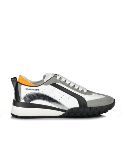 Dsquared2 Legend Sneakers Wit /Zilver