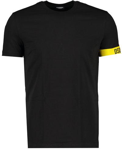 Dsquared2 Elastic Arm Band T-shirt Black