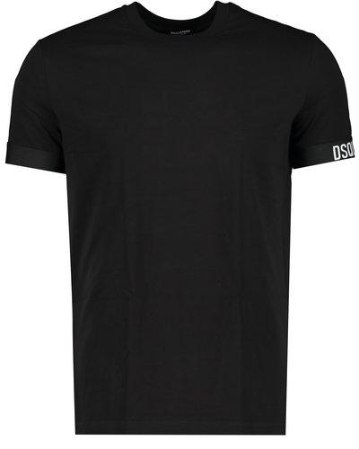 Dsquared2 Elastic Arm Band T-shirt Schwarz