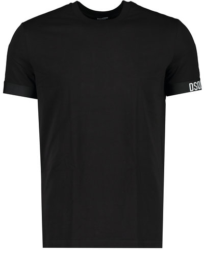 Dsquared2 Elastic Arm Band T-shirt Zwart