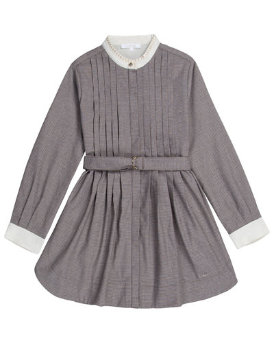 Chloé Kids Dress Grijs