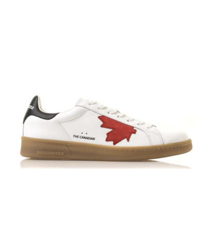 Dsquared2 The Canadian Boxer Sneaker Wit/Rood