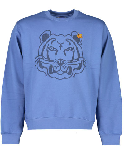Kenzo Tiger Sweater Blauw