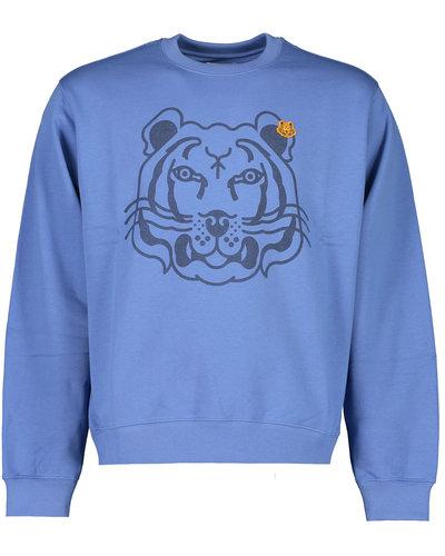 Kenzo Tiger Sweater Blue