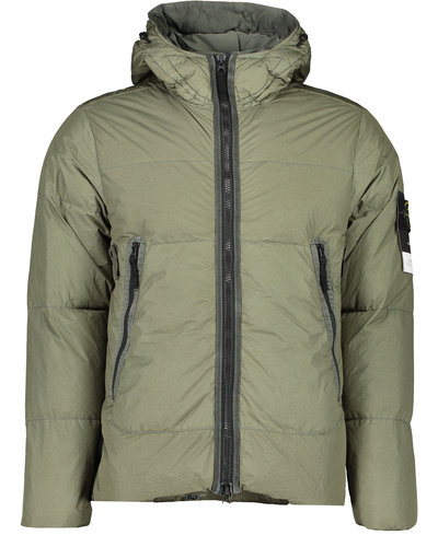Stone Island 40123 Garment Dyed Crinkle Reps NY Down Jacket Sage