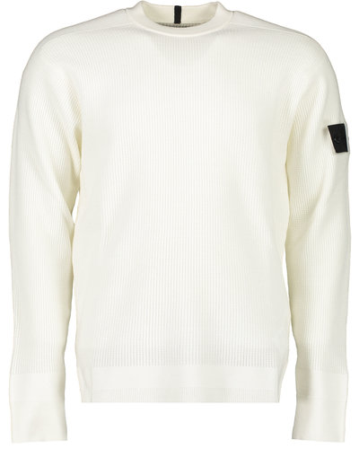 Shadow Project Stone Island 505A1 Crewneck Sweater Offwhite