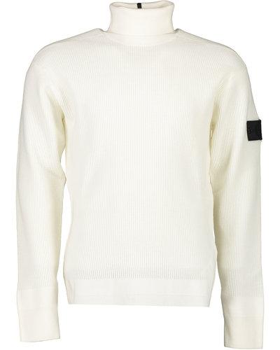 Shadow Project Stone Island 506A1 Turtleneck Sweater Offwhite