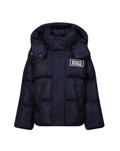 Dsquared2 Kids Sport Edition Down Jacket Navy