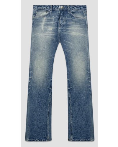 Flaneur Homme Straight Jeans Blauw