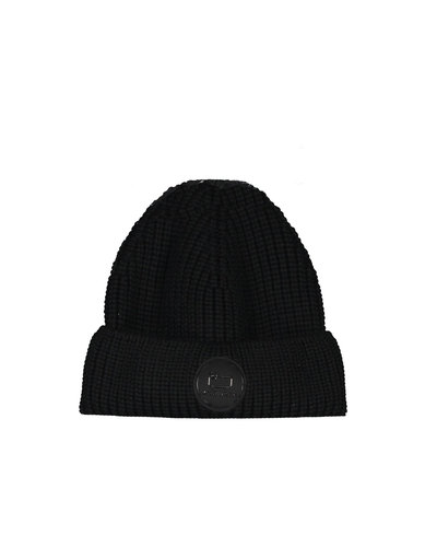 Woolrich Winter Beanie Hat Black