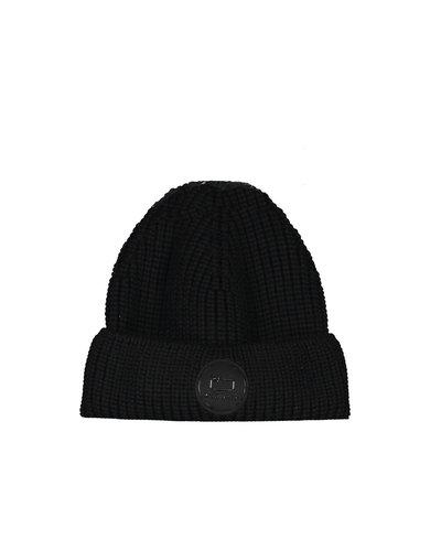 Woolrich Winter Beanie Hat Schwarz