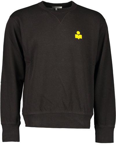 Isabel Marant Mike Sweater Zwart/Yellow