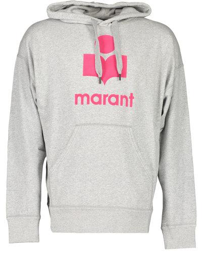 Isabel Marant Miley Hoodie Grey/Pink