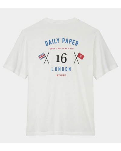 Daily Paper London Store T-Shirt Weiß