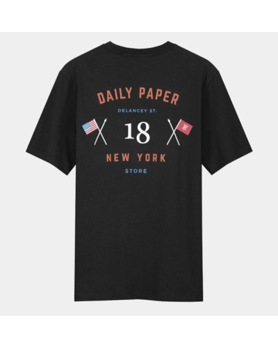 Daily Paper New York Store T-Shirt Black