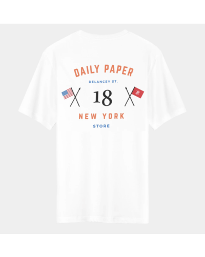 Daily Paper New York Store T-Shirt Weiß