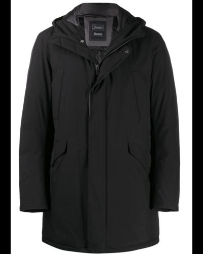 Herno Laminar Long Padded Jacket Zwart