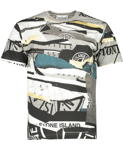 Stone Island 2NS88 T-shirt All over Print