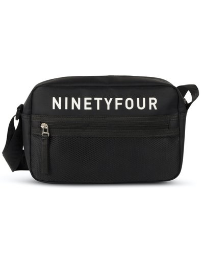 Ninety Four  Messenger Bag Schwarz