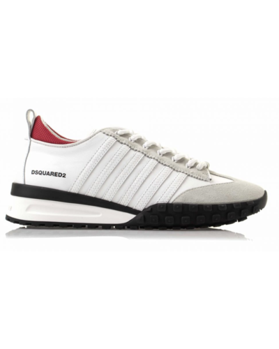 Dsquared2 Legend Suede Sneakers White