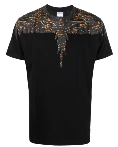 Marcelo Burlon Camou Wings T-shirt Schwarz
