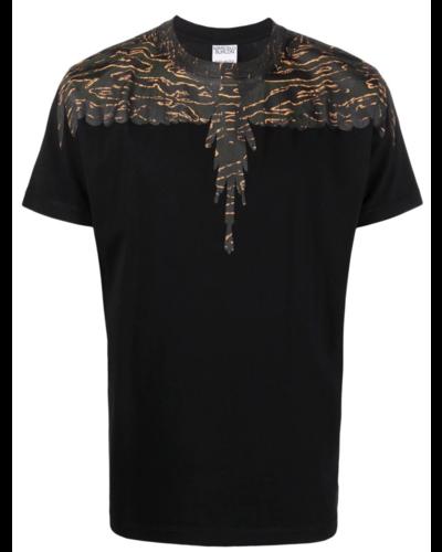 Marcelo Burlon Camou Wings T-shirt Zwart