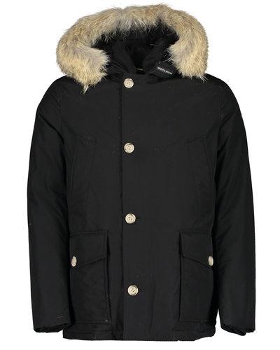 Woolrich Arctic Detachable Fur Anorak Jacket Zwart