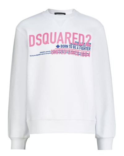 Dsquared2 Kids Relax Sweater White