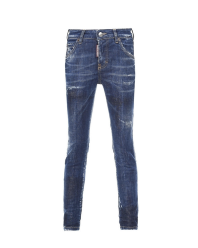 Dsquared2 Kids Cool Girl Jeans Blue