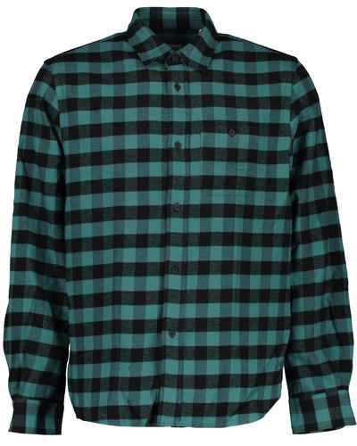 Kenzo Checked Overshirt Blauw