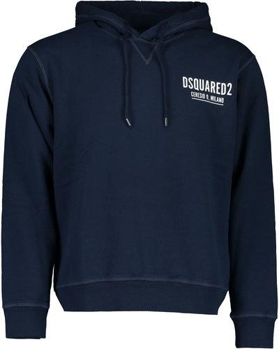 Dsquared2 Ceresio 9 Milano Hoodie Blauw
