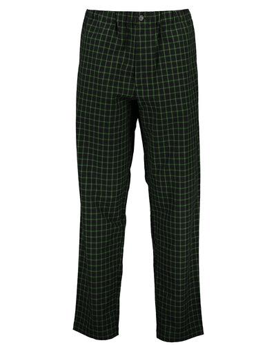 Kenzo Check Pants Zwart/Groen