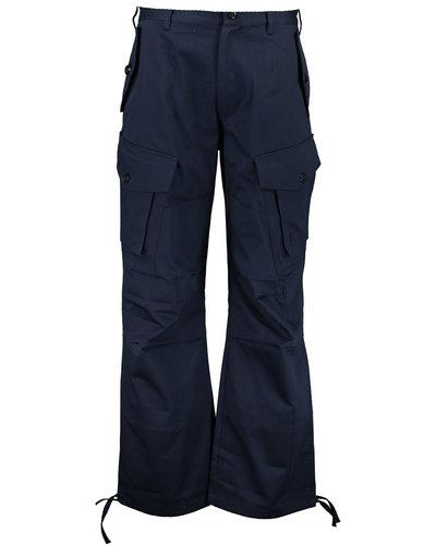 Kenzo Cargo Pants Blue