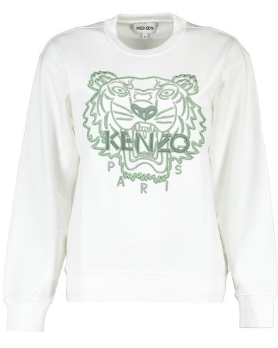 Kenzo Classic Tiger Sweater Wit