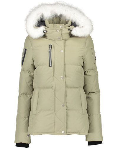 Moose Knuckles Rathnelly Jacket Grau/Natürlich