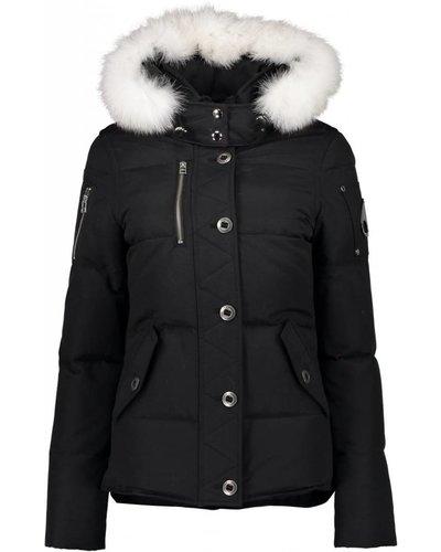 Moose Knuckles 3Q Jacket Dame Schwarz/Offwhite