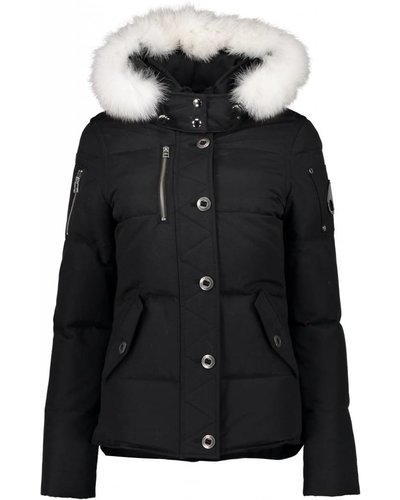 Moose Knuckles 3Q Jacket Woman Black/Offwhite