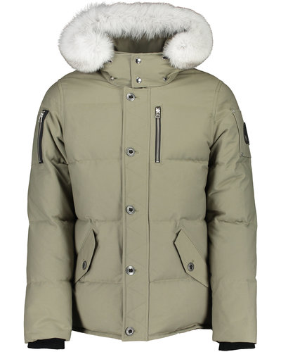 Moose Knuckles 3Q Jacket  Green /Offwhite