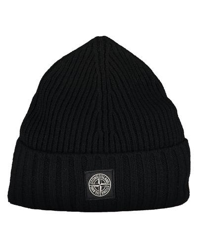 Stone Island Junior N03A8 Hat Schwarz