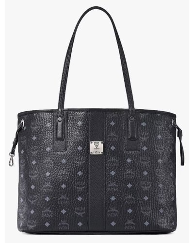 MCM Worldwide Liz Reversible Medium Shopper Black