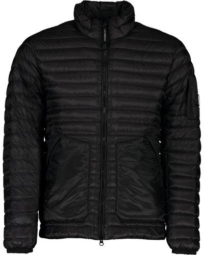 C.P. Company DD Stand Collar Jacket Zwart