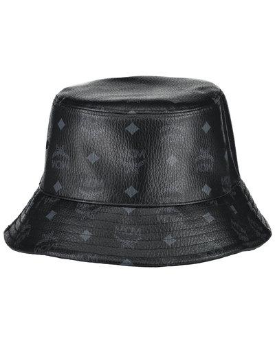 MCM Worldwide Visetos Bucket Hat Zwart