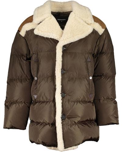 Dsquared2 Lumber Coat Groen